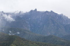 Gunung Kinabalu. Mount kinabalu at borneo, Sabah Malaysia Royalty Free Stock Images