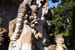 Gunung Lebah. Temple in Ubud Royalty Free Stock Photography