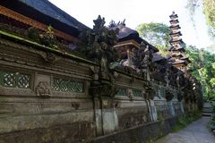 Gunung Lebah. Temple in Ubud Royalty Free Stock Image