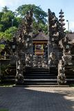 Gunung Lebah. Temple in Ubud Stock Images