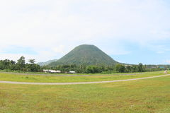 Gunung Meja, Ende Airport royalty free stock photography