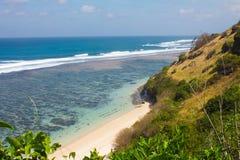 Gunung Payung海滩,巴厘岛 库存图片
