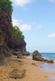 Gunung Payung strand, Bali Arkivfoton