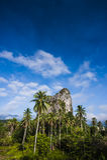 Gunung Reng στοκ φωτογραφία