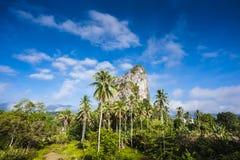 Gunung Reng. Is rocky mount in Kelantan Royalty Free Stock Photos