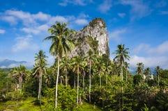 Gunung Reng. Is rocky mount in Kelantan Royalty Free Stock Photo
