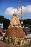Gunungan machte vom Gemüse stockfoto