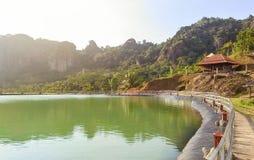 Gunungkidul de la mañana Foto de archivo libre de regalías