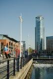 Gunwharf quays Stock Photos