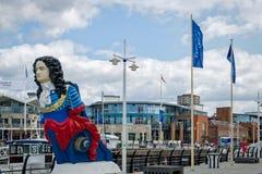 Gunwharf Quays Portsmouth England Stock Photo