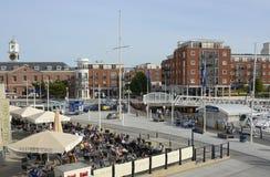 Gunwharf Quays at Portsmouth. England Royalty Free Stock Photo