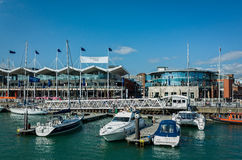 Gunwharf Quays Portsmouth England Royalty Free Stock Image