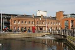 Gunwharf Quays w Portsmouth, Anglia fotografia royalty free