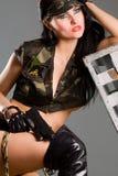 Gunwoman Imagen de archivo