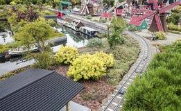 Gunzburg,德国- 8月08 :Legoland -从乐高砖的微型欧洲2015年8月08日, Gunzburg,德国 免版税库存图片
