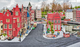 Gunzburg, ALLEMAGNE - 26 mars : Legoland - la mini Europe Photographie stock libre de droits