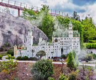 Gunzburg, GERMANIA - 26 marzo: Legoland - mini Europa da LEGO Immagine Stock