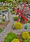 Gunzburg, GERMANY - MARCH 26: Legoland - mini Europe from LEGO. Bricks on March 26, 2016, Gunzburg, Germany Stock Image