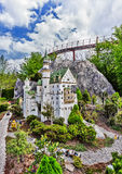 Gunzburg, GERMANY - MARCH 26: Legoland - mini Europe from LEGO. Bricks on March 26, 2016, Gunzburg, Germany Royalty Free Stock Photo