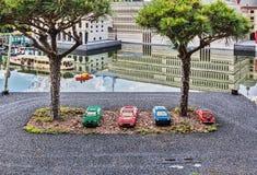 Gunzburg, GERMANY - MARCH 26: Legoland - mini Europe from LEGO. Bricks on March 26, 2016, Gunzburg, Germany Royalty Free Stock Images