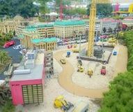 Gunzburg TYSKLAND - AUGUSTI 08: Legoland - mini- Europa från LEGO-tegelstenar på Augusti 08, 2015, Gunzburg, Tyskland Royaltyfri Fotografi