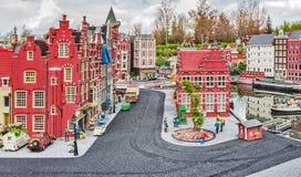 Gunzburg TYSKLAND - MARS 26: Legoland - mini- Europa Royaltyfri Fotografi