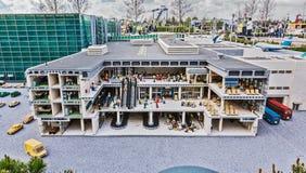 Gunzburg TYSKLAND - MARS 26: Legoland - mini- Europa från LEGO Royaltyfri Foto