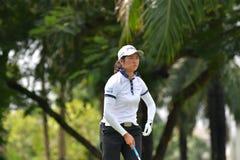 Guo Caizhu de China en el amo 2017 del PTT Tailandia LPGA Foto de archivo