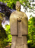 Guo Pu Scholar statue Royalty Free Stock Photo