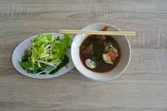 Guo Tiew Thai Noodle soppa arkivfoton