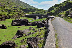 Gup Of Dunloe with bridge. In behind Ireland Co. kerry Royalty Free Stock Images