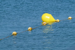 Guppa boj för hav för säkerheten av maritimt royaltyfria bilder