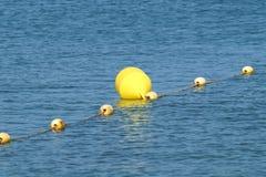 Guppa boj för hav för säkerheten av maritimt royaltyfri bild