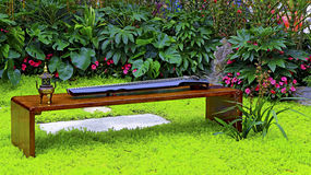 Guqin, the chinese musical instrument Royalty Free Stock Photography