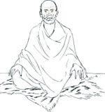 Gurú de Sri Narayana Imágenes de archivo libres de regalías