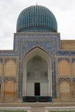 Gur-e Amir, Graf, Samarkand, Oezbekistan stock afbeelding