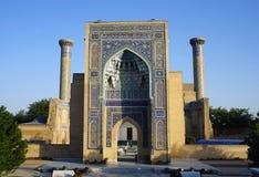 Gur-e-Amir, mausoleum van Amir Timur, Samarkand, Oezbekistan royalty-vrije stock afbeeldingen