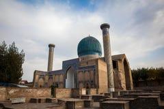 Gur Emir - The Tomb of Tamerlan in Samarkand stock photography