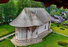 Humor Monastery Romania. Humor Monastery, Region Gura Humorului, Romania royalty free stock image