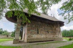Gura Humorului Monastery Stock Image