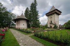 Gura Humorului Monastery Royalty Free Stock Images