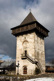 gura humorului wizerunku Moldavia monaster Romania fotografia royalty free