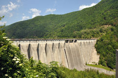 Gura Raului dam Stock Images