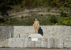 Gurahont ioan buteanu statue Stock Photography