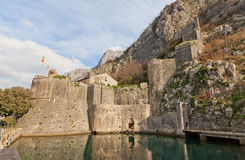 Gurdic Bastion and South Gate in Kotor, Montenegro Royalty Free Stock Photos