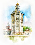 Gurdwara Baba Atal Royalty-vrije Stock Afbeelding