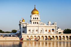 Gurdwara Bangla Sahib 库存图片
