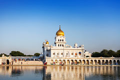 Gurdwara Bangla Sahib Photos libres de droits