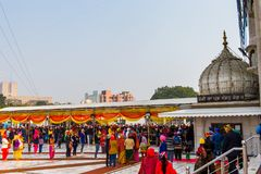 Gurdwara Bangla Sahib Royalty Free Stock Photography