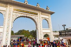 Gurdwara Bangla Sahib Royalty Free Stock Image
